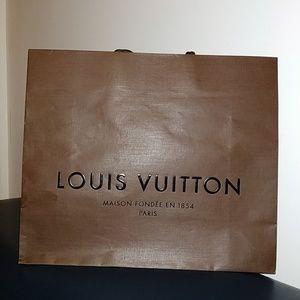 Looks Louis Vuitton shopping bag